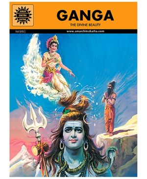 Amar Chitra Katha Ganga - English