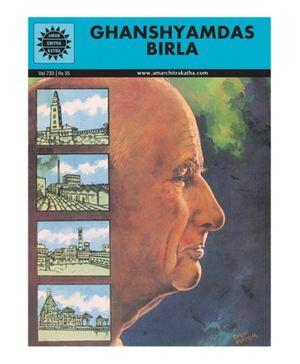 Amar Chitra Katha Ghanshyamdas Birla - English