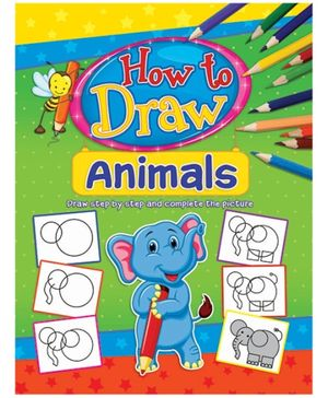Dreamland Coloring Book How To Draw Animals Book 1 - English