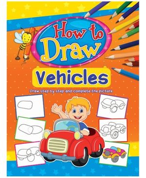 Dreamland Coloring Book How To Draw Vehicles Book 5 - English