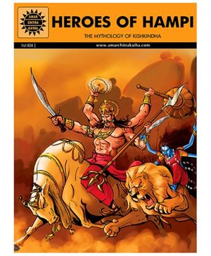 Amar Chitra Katha Heroes Of Hampi