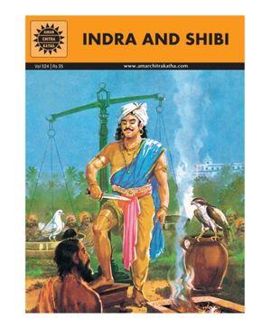 Amar Chitra Katha Indra And Shibi