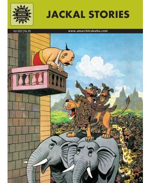 Amar Chitra Katha Jackal Stories - English