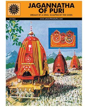 Amar Chitra Katha Jagannatha Of Puri - English