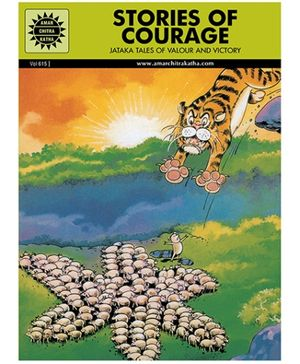 Amar Chitra Katha Stories Of Courage - English