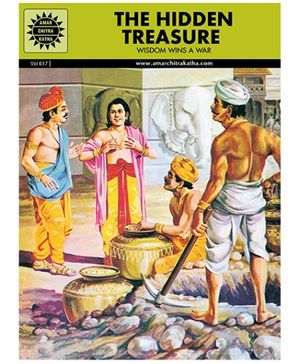 Amar Chitra Katha The Hidden Treasure - English