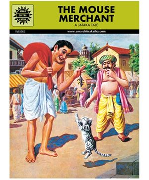 Amar Chitra Katha The Mouse Merchant - English