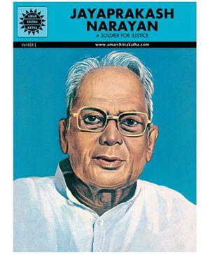 Amar Chitra Katha Jayaprakash Narayan - English