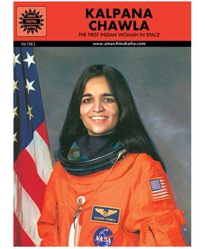 Amar Chitra Katha Kalpana Chawla - English