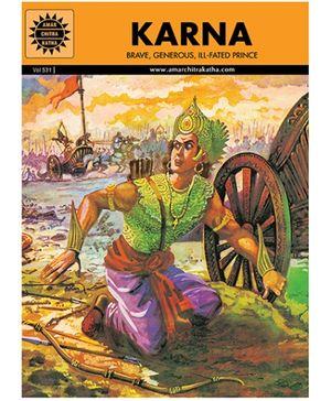 Amar Chitra Katha Karna - English