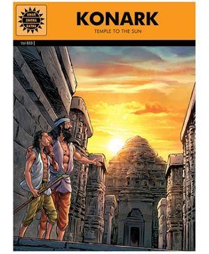 Amar Chitra Katha Konark Temple To The Sun - English