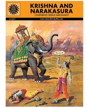 Amar Chitra Katha Krishna And Narakasura