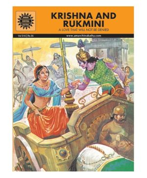 Amar Chitra Katha Krishna And Rukmini