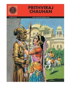 Amar Chitra Katha Prithviraj Chauhan - English