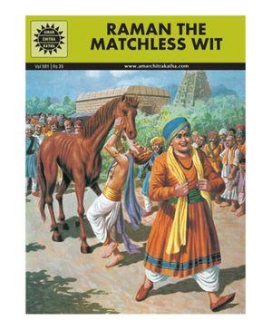 Amar Chitra Katha Raman The Matchless Wit - English