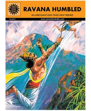 Amar Chitra Katha Ravana Humbled