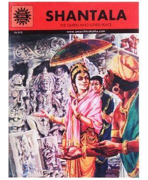 Amar Chitra Katha Shantala - English