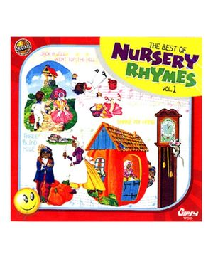 Gipsy Video The Best Of Nursery Rhymes Volume 1 - VCD