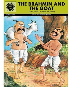 Amar Chitra Katha The Brahmin And The Goat - English