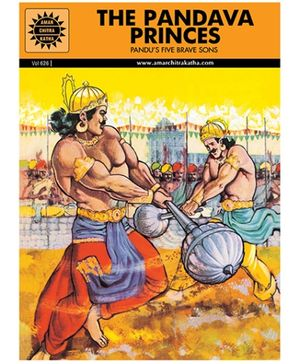 Amar Chitra Katha The Pandava Princes