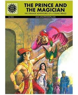 Amar Chitra Katha - The Prince And The Magician