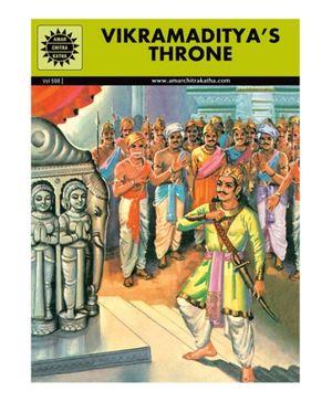 Amar Chitra Katha Vikramaditya's Throne - English