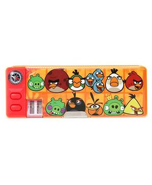 Angry Birds Magnetic Pencil Box - Yellow