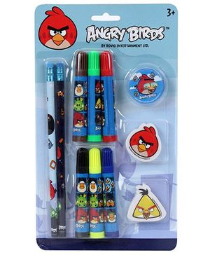 Angry Birds Stationery Set - 11 Pieces
