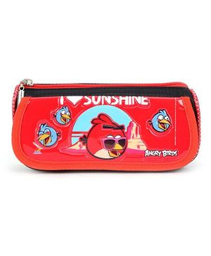 Angry Birds Pencil Pouch - Red