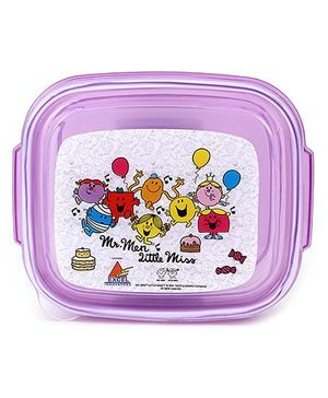 Mr. Men And Little Miss Lunch Box - Purple