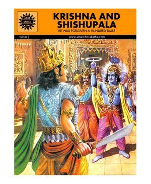Amar Chitra Katha Krishna And Shishupala