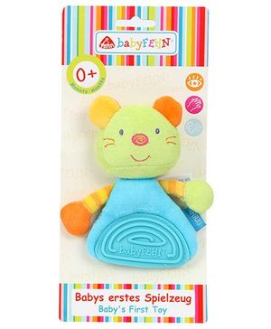BabyFehn Grabber Mouse With Soft Teether