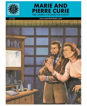 Amar Chitra Katha Marie And Pierre Curie - English