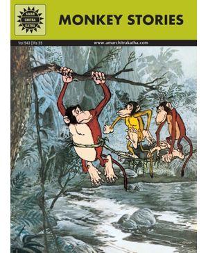 Amar Chitra Katha - Monkey Stories