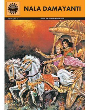 Amar Chitra Katha - Nala Damayanti