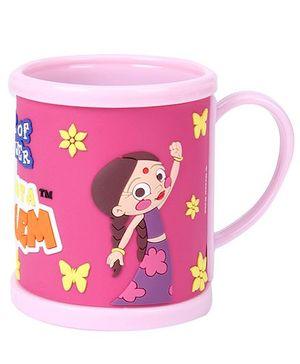 Chutki Print Mug - Pink