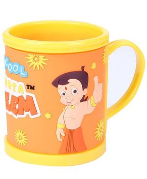 Chhota Bheem Mug - Yellow And Orange