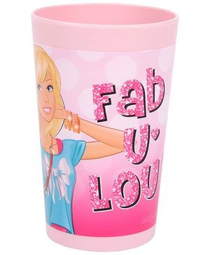 Barbie Tumbler Fab Print Pink - 250 ml
