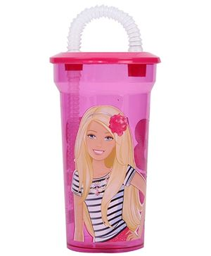 Barbie Floral Sipper - Pink
