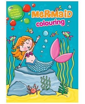Parragon Mermaid Colouring Book - English