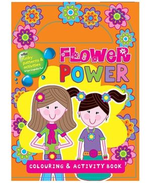 Parragon Flower Power Coloring And Activity Book - English