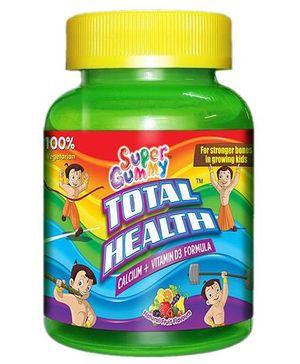 Super Gummy Total Health Calcium Plus Vitamin D3 - 30 pieces