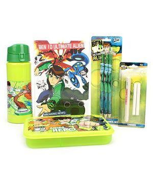 Ben 10 School Kit - Pack Of 5
