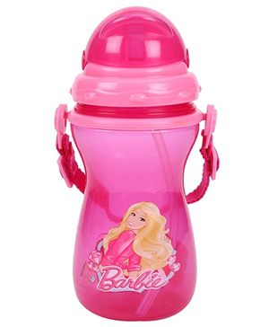 Barbie Sipper Water Bottle Small - Pink
