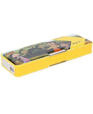 Chhota Bheem Magnetic Pencil Box - Yellow