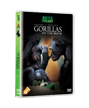 Animal Planet DVD Gorillas On The Brink - English