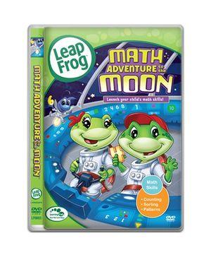 Leap Frog DVD Maths Adventure Moon - English