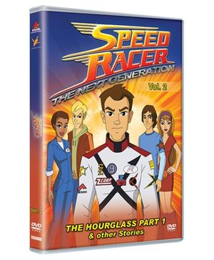 Toonz DVD Speed Racer The Hourglass Part 1 - English