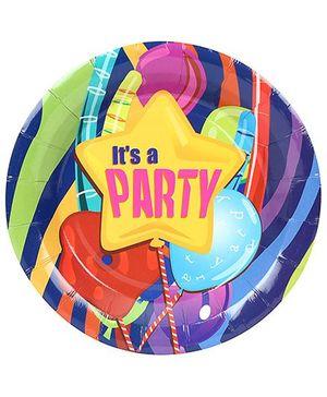 Birthdays & Parties Paper Plates - 10 Pieces