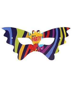 Birthdays & Parties Eye Mask Multi Colour - 10 Pieces